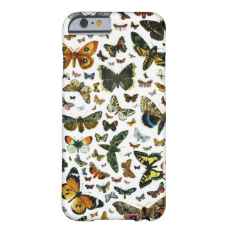 Colagem da borboleta capa barely there para iPhone 6
