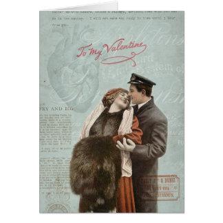 Colagem do coração do amor do casal do dia dos cartão