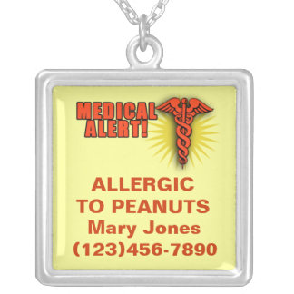 Colar alerta médica a personalizar