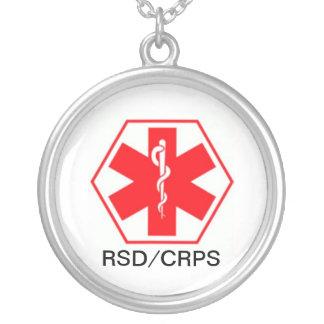 Colar alerta médica CRPS de RSD