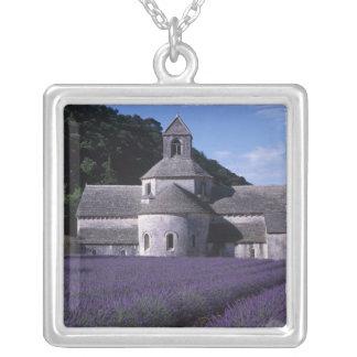 Colar Banhado A Prata Abadia de Senanque, Gordes, Vaucluse, Provence, 2