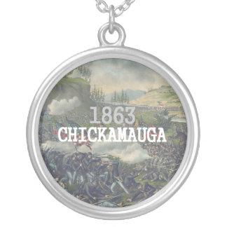 Colar Banhado A Prata ABH Chickamauga