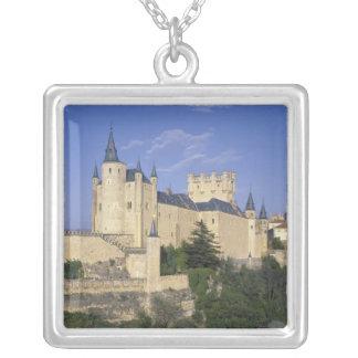 Colar Banhado A Prata Alcazar, Segovia, Castile Leon, espanha