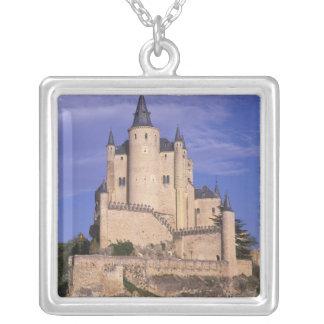 Colar Banhado A Prata Alcazar, Segovia, Castile Leon, espanha, Unesco