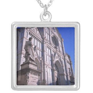 Colar Banhado A Prata Basílica Santa Croce 2