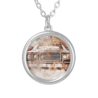Colar Banhado A Prata car-1640005_1920