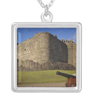 Colar Banhado A Prata Castelo de Dunstaffnage, Argyll e Bute, Scotland