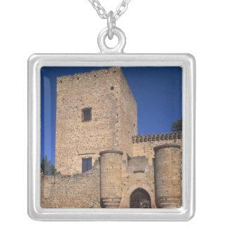 Colar Banhado A Prata Castelo Pedraza, Castile Leon, espanha 2