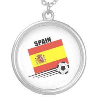 Colar Banhado A Prata Equipe de futebol espanhola