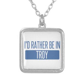 Colar Banhado A Prata Eu preferencialmente estaria em Troy MI