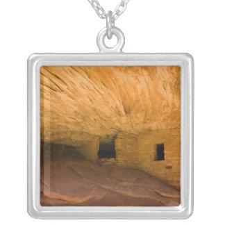 Colar Banhado A Prata EUA, Utá, Mesa do cedro, garganta da mula. Arenito