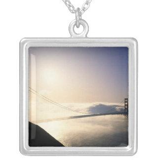 Colar Banhado A Prata Golden gate bridge, San Francisco, Califórnia, 4