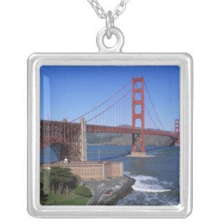 Colar Banhado A Prata Golden gate bridge, San Francisco, Califórnia, 8
