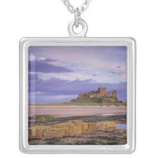 Colar Banhado A Prata Inglaterra, Northumberland, castelo de Bamburgh