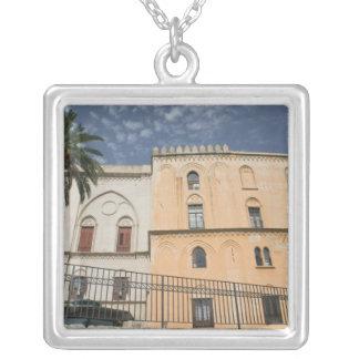 Colar Banhado A Prata Italia, Sicília, Palermo, dei Normanni de Palazzo