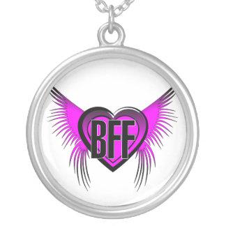 Colar Banhado A Prata Melhores amigos de BFF para sempre
