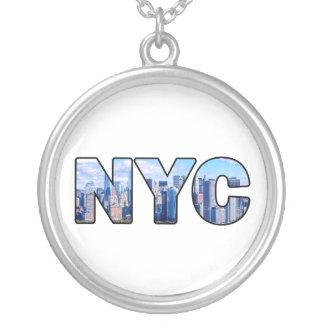 COLAR BANHADO A PRATA NYC