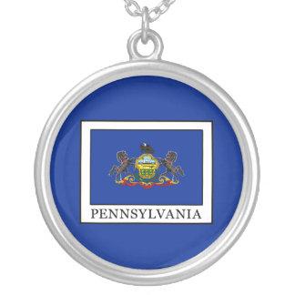 Colar Banhado A Prata Pensilvânia