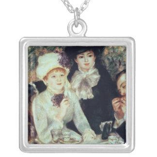 Colar Banhado A Prata Pierre um Renoir | a extremidade do almoço