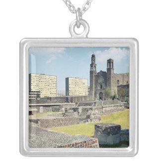 Colar Banhado A Prata Plaza de las Tres Culturas, 14o-20o século