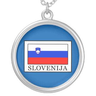 Colar Banhado A Prata Slovenija