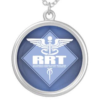 Colar Banhado A Prata Terapeuta respiratório registrado RRT