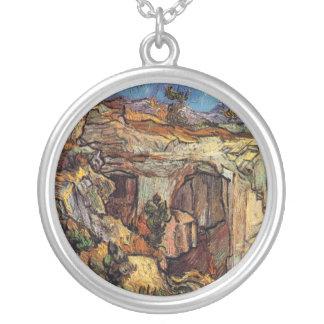 Colar Banhado A Prata Vincent van Gogh - entrada a umas belas artes da