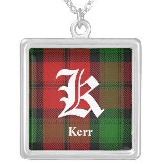 Colar clássica de Kerr do clã do monograma