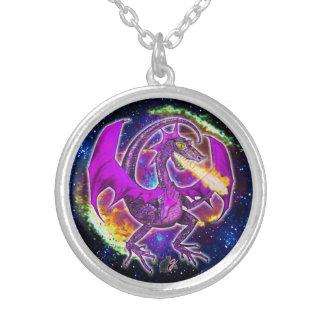 Colar cósmica do dragão da turmalina