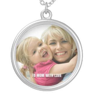 Colar da foto da mamã do amor
