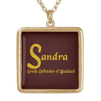 Colar de Sandra