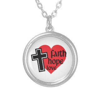 Colar do amor da esperança da fé