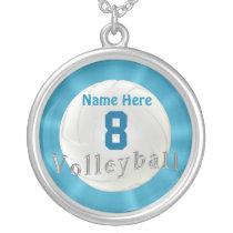 Colar do voleibol com número e nome