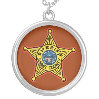 Colar do xerife do Condado de Summit Ohio