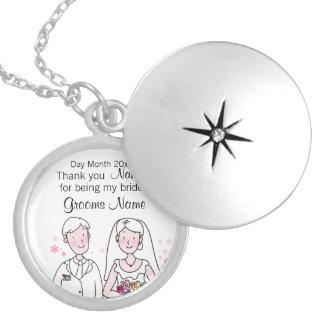 Colar Medalhão Lembranças do casamento, presentes, ofertas para