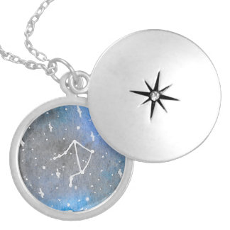 Colar Medalhão Locket do Libra