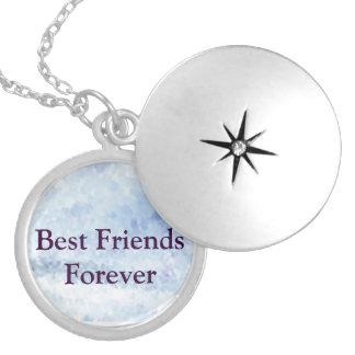 Colar Medalhão Melhores amigos para sempre