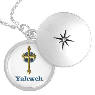 Colar Medalhão Presentes de Yahweh