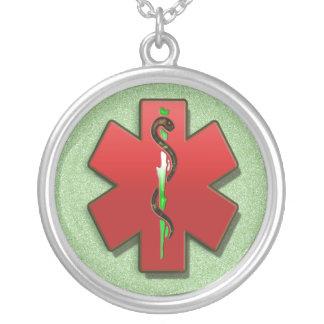Colar médica do símbolo