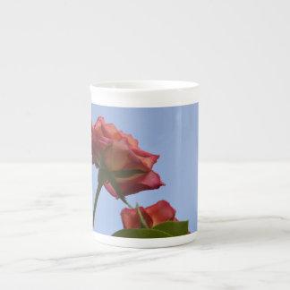 Coleção 3 da caneca da porcelana do jardim de