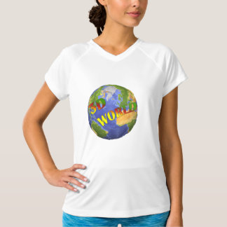 Coleção 3D World Camiseta