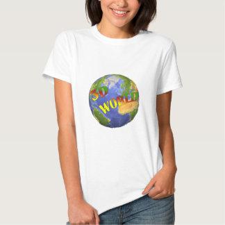 Coleção 3D World Camisetas