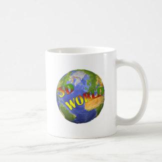 Coleção 3D World Caneca De Café