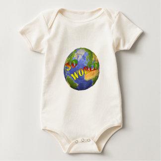 Coleção 3D World Macacãozinho Para Bebê