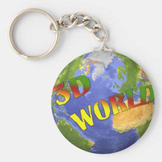 Coleção 3D World Chaveiro