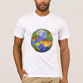 Coleção 3D World T-shirt