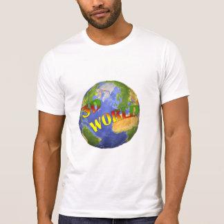 Coleção 3D World T-shirts