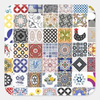 Coleção Azulejos Adesivo Quadrado