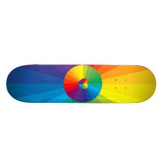 Coleção customizável do espectro shape de skate 21,6cm