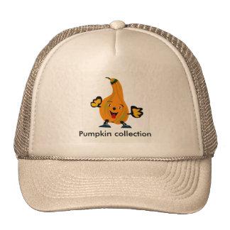 coleção da abóbora boné